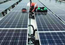 Maletis Beverage in Portland completed a big solar installation last June, just as the solar trade case was beginning. Cathy Cheney | Portland Business Journal