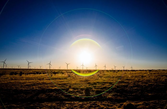Wind farms like the Spinning Spur 3, which powers Georgetown, have replaced prairie-dog towns as the dominant feature of the Texas Panhandle.